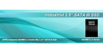 "APRO Releases HERMES-JI Series 2.5"" SATA III SSD with Latest Toshiba MLC"